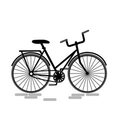 bicycle icon bike icon vector image