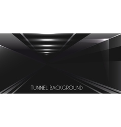 Dark Tunnel background vector image