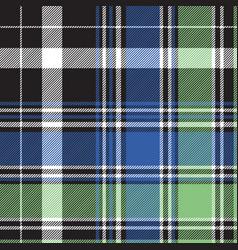 fabric texture tartan abstract seamless pattern vector image