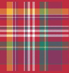 pink plaid tartan seamless pattern vector image