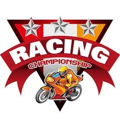 Racing Championship vector
