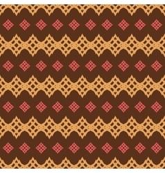 Rhombus geometric seamless pattern 2607 vector image
