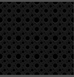 Seamless pattern with holes background vector