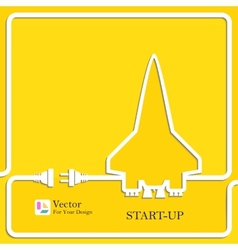 Start Up New Project symbol vector image