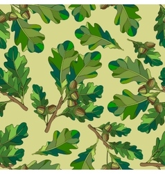 The leaves and branches vector image