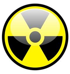 radiation symbol vector image vector image