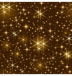 starry sky pattern vector image vector image