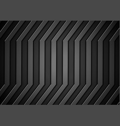 Dark concept stripes technology abstract vector image