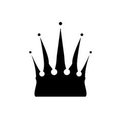Icon of Crown vector image vector image