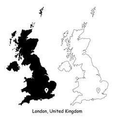 1188 london united kingdom vector image
