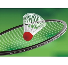 A tennis racket vector