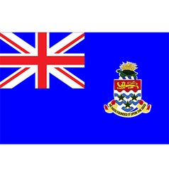 Flag of cayman islands vector