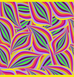 seamless bright colorful pattern with purple pink vector image