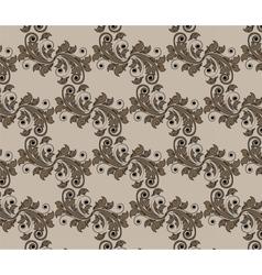 Vintage damask floral style Ornament Pattern vector
