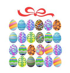 easter egg gift vector image vector image