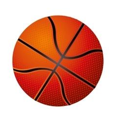 basketball ball icon image vector image
