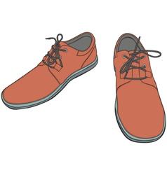 Cartoon Shoes vector image