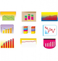 graph collection vector image