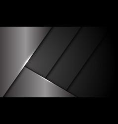 Abstract grey metallic dark shutter pattern vector