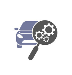 car repair icon automotive and transportation vector image