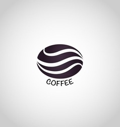 Coffee logo design template vector image vector image