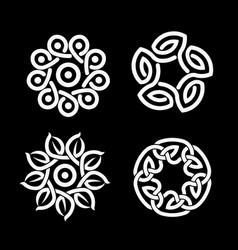 Color a celtic knot vector