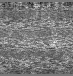 Grunge brick wall vector