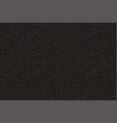 realistic gold glitter particles background vector image