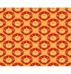 Red Chinese Lantern seamless pattern background vector