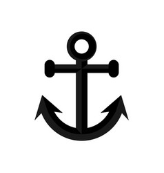 Ship anchor summer stuff icon design vector