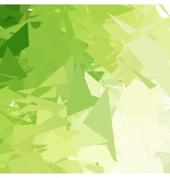 Green light abstract background vector image