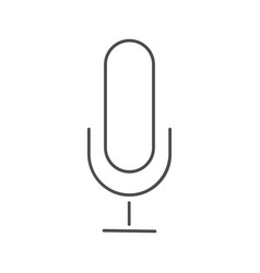 microphone icon microphone icon in trendy vector image vector image