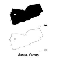 1196 sanaa yemen vector image