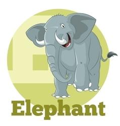 Abc cartoon elephant3 vector