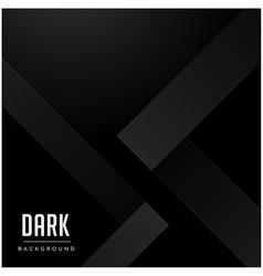 black modern pattern dark background image vector image