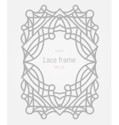 Decorative frame and border vector image