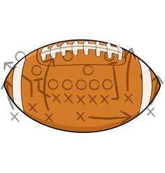 football tactics vector image