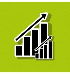 Growth icon design vector