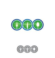 infinity restaurant vector image