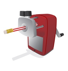 Pencil sharpener vector