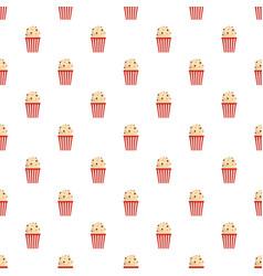 popcorn pattern seamless vector image