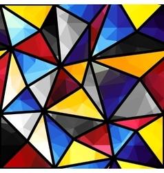 Triangles geometric pattern vector