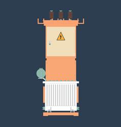 Transformer substation vector