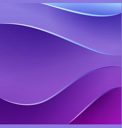 Abstract waves and shadows background vector