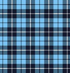 Blue tartan fabric texture pattern seamless vector