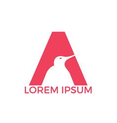 Initial letter a logo design vector