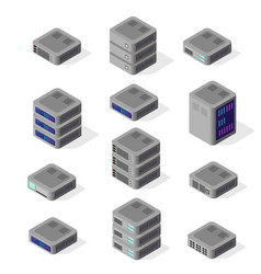 Isometric of network vector