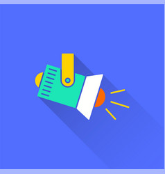 lighting - icon for graphic and web design vector image