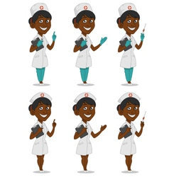 Set nurses vector
