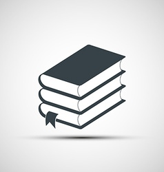 Stack books vector
